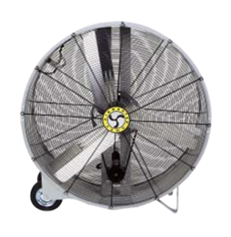 "Portable Drum Fan 42"" Belt Drive"
