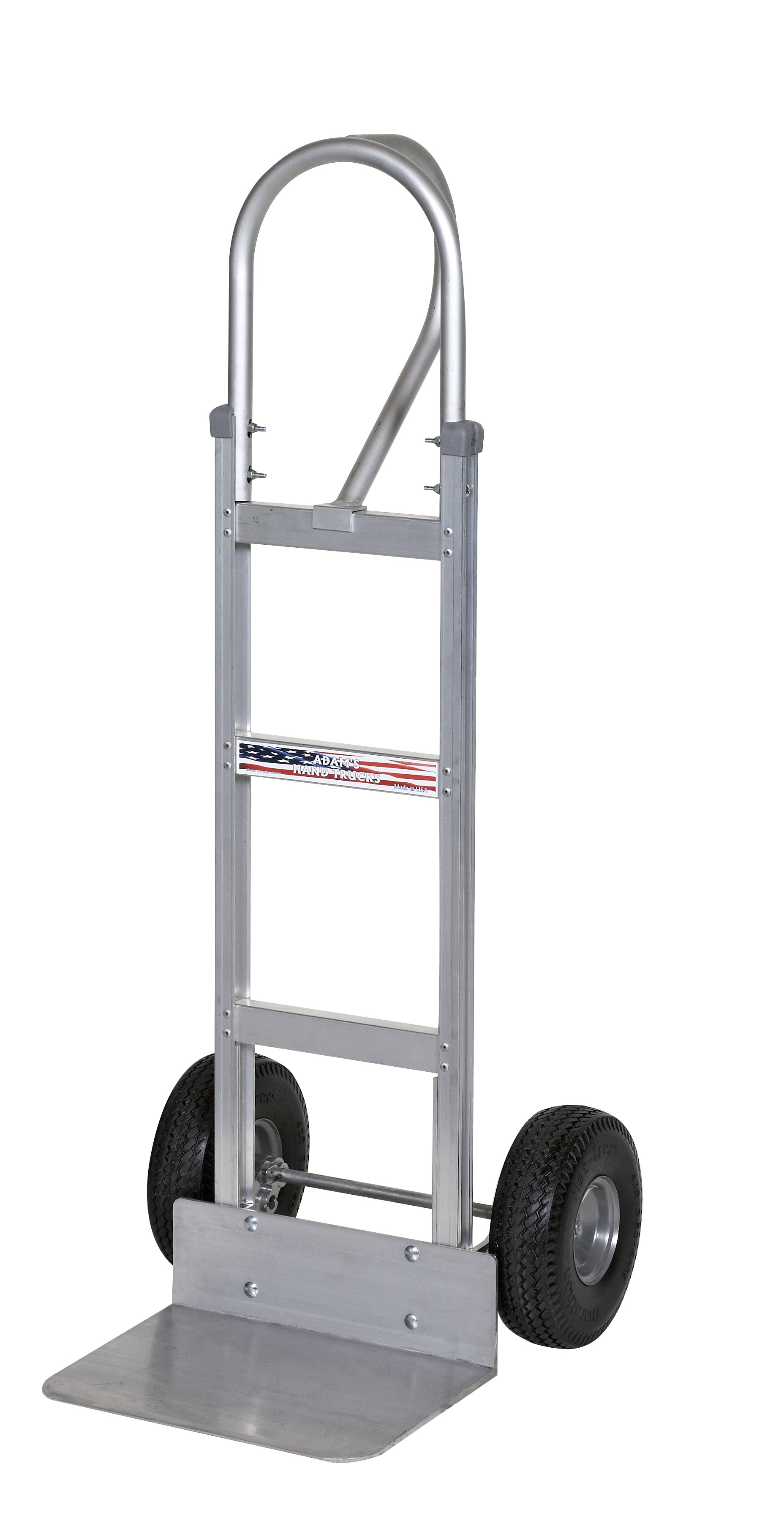 Adam's Aluminum Hand Truck with D-Handle 600lb. Capacity